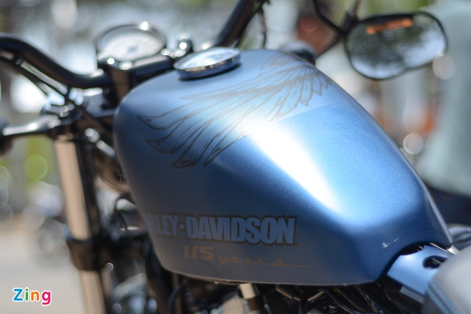 Harley-Davidson Forty-Eight phien ban dac biet tai Viet Nam hinh anh 3
