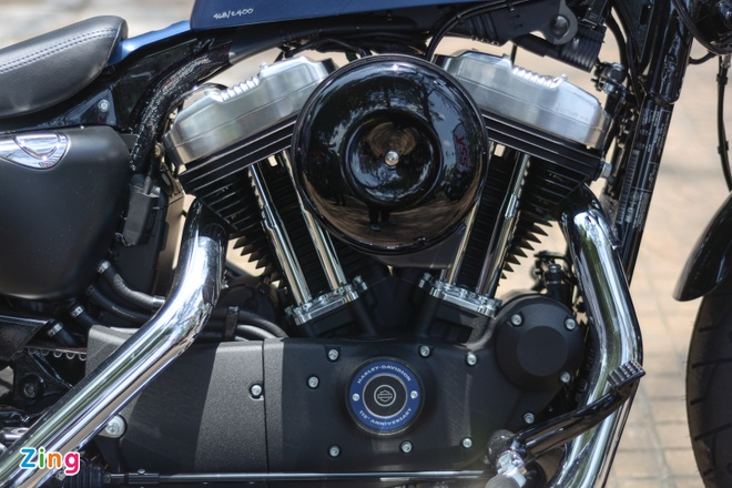 Harley-Davidson Forty-Eight phien ban dac biet tai Viet Nam hinh anh 6