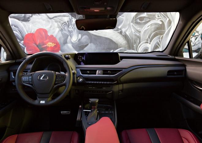 Lexus UX 2019 ra mat, doi dau BMX X2, Audi Q3 hinh anh 5