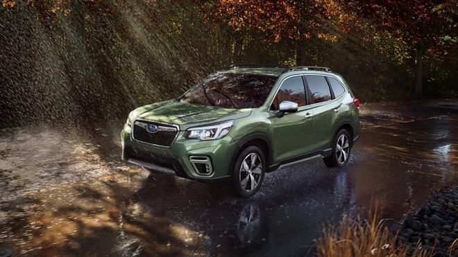 Subaru Forester 2019: Khoang chua do rong hon, mo ban vao cuoi nam hinh anh 2