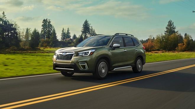 Subaru Forester 2019: Khoang chua do rong hon, mo ban vao cuoi nam hinh anh 9
