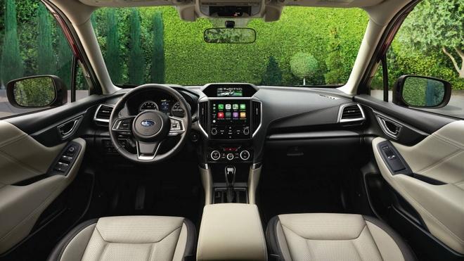 Subaru Forester 2019: Khoang chua do rong hon, mo ban vao cuoi nam hinh anh 3