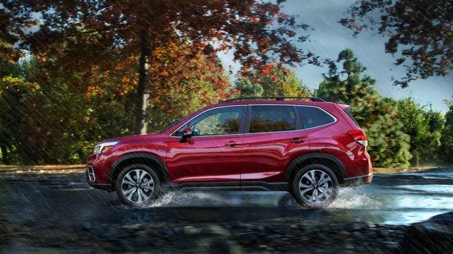 Subaru Forester 2019: Khoang chua do rong hon, mo ban vao cuoi nam hinh anh 5