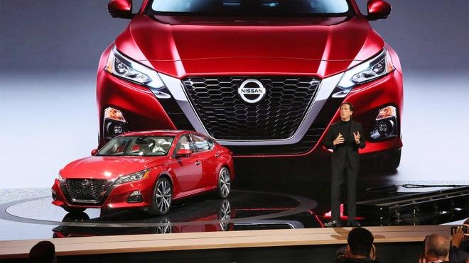 Nissan Teana 2019 the he moi ra mat, doi dau Toyota Camry hinh anh 1
