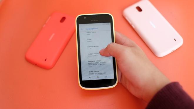 Trai nghiem Nokia 1 gia 1,9 trieu dong tai VN hinh anh