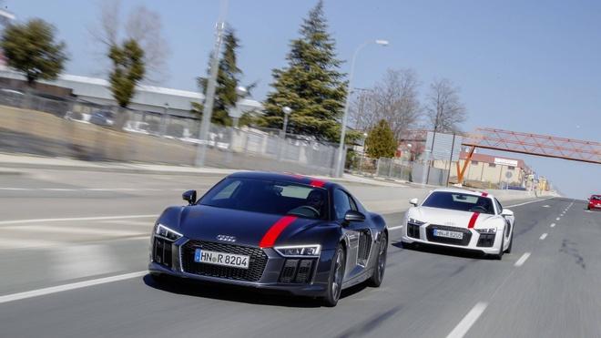 Audi R8 V10 RWS - phien ban R8 re nhat tu truoc den nay hinh anh