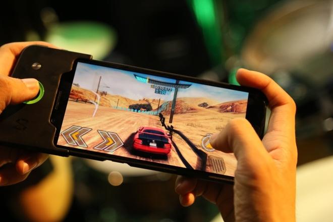 Smartphone chuyen choi game Xiaomi Black Shark xuat hien hinh anh