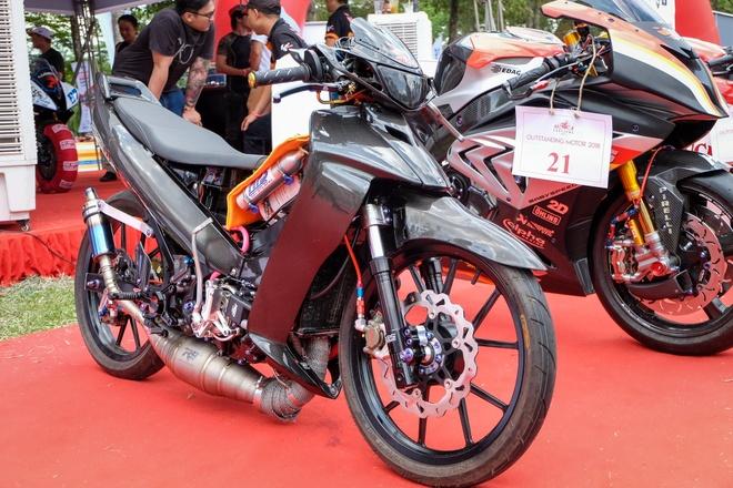 'Sieu ca map' Yamaha Z125 do hon 800 trieu cua dan choi Viet hinh anh