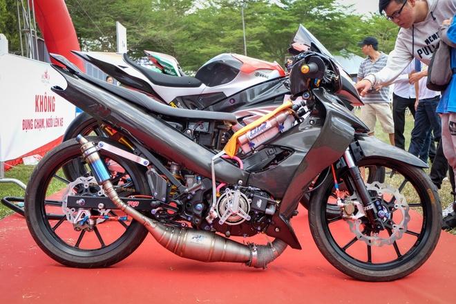 'Sieu ca map' Yamaha Z125 do hon 800 trieu cua dan choi Viet hinh anh 2