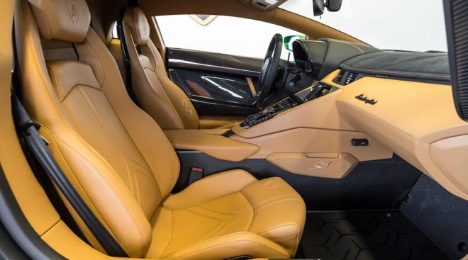 Lamborghini Aventador SV ban dac biet voi mau son doc dao hinh anh 5