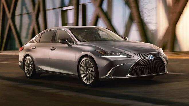 Lexus ES 2019 ro ri hinh anh dau tien hinh anh 1