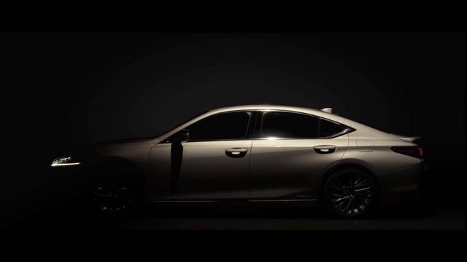 Lexus ES 2019 ro ri hinh anh dau tien hinh anh 3