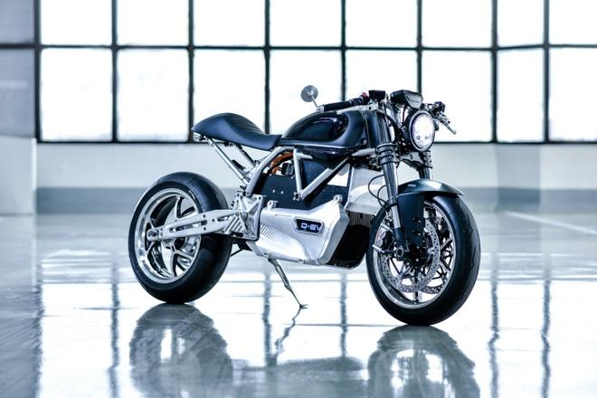 Ducati Scrambler D-EV chay dien ra mat anh 2