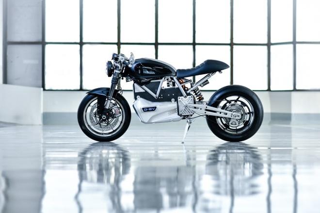 Ducati Scrambler D-EV chay dien ra mat anh 4