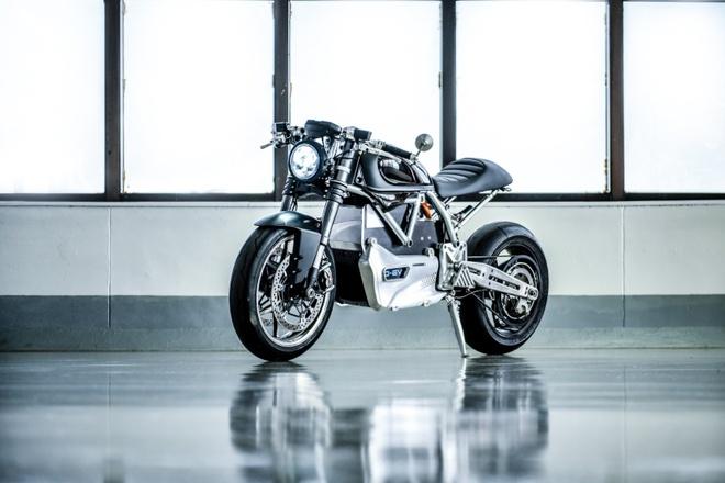 Ducati Scrambler D-EV chay dien ra mat anh 7