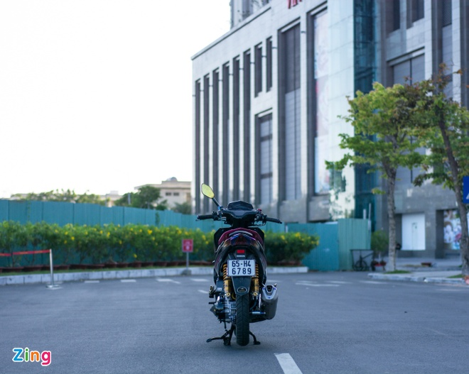 Honda Air Blade do gan 100 trieu cua biker Can Tho hinh anh 13
