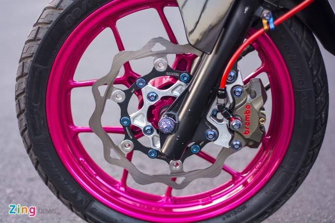 Honda Air Blade do gan 100 trieu cua biker Can Tho hinh anh 11