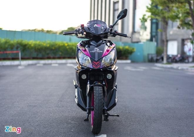 Honda Air Blade do gan 100 trieu cua biker Can Tho hinh anh 2