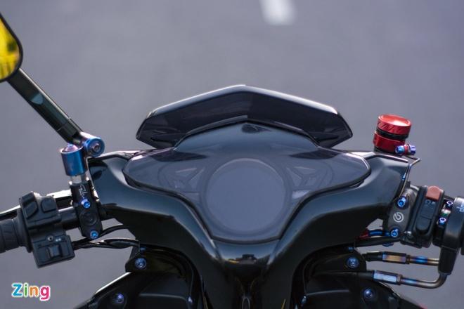 Honda Air Blade do gan 100 trieu cua biker Can Tho hinh anh 4