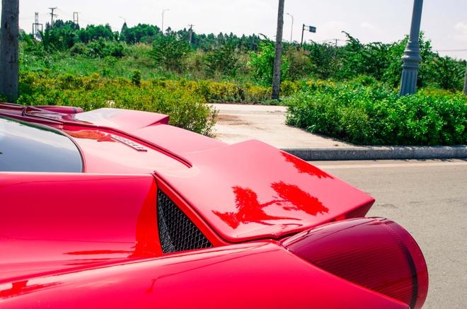 Ferrari 458 Italia do bodykit Misha dau tien tai Viet Nam hinh anh 3