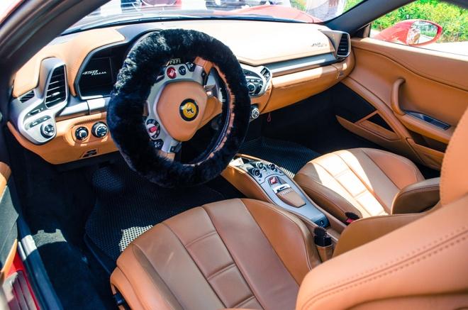 Ferrari 458 Italia do bodykit Misha dau tien tai Viet Nam hinh anh 5