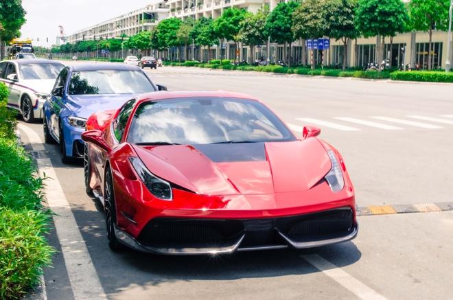 Ferrari 458 Italia do bodykit Misha dau tien tai Viet Nam hinh anh 8