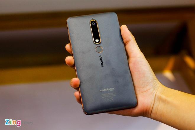 Mo hop Nokia 6 ban 2018 gia 5,9 trieu dong hinh anh 4