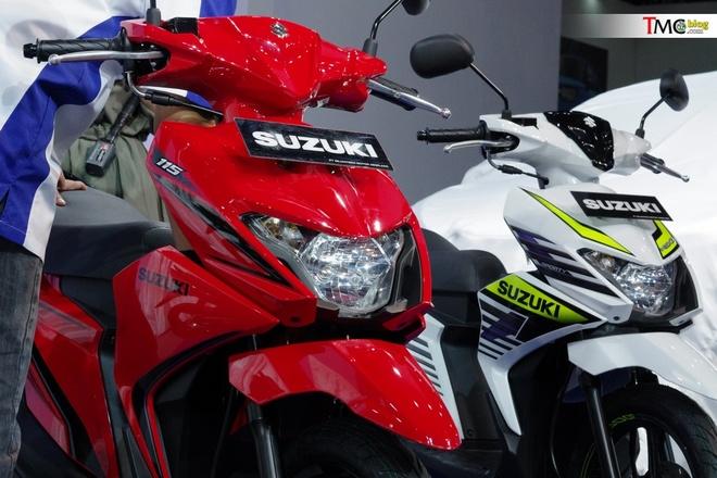 Xe tay ga gia re Suzuki Nex II ra mat, gia tu 800 USD hinh anh