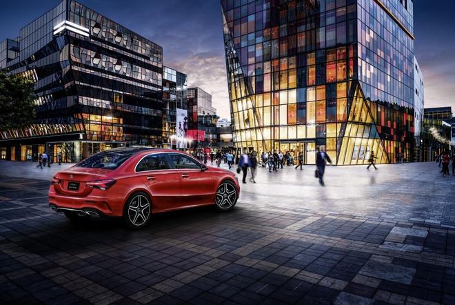 Mercedes-Benz A-Class ban sedan ra mat tai Bac Kinh hinh anh 2