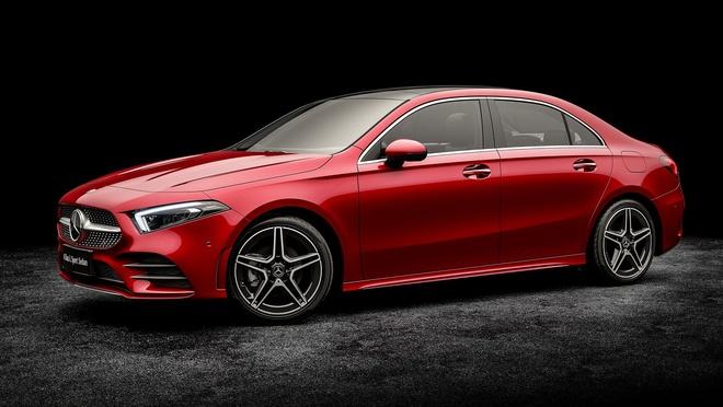 Mercedes-Benz A-Class ban sedan ra mat tai Bac Kinh hinh anh 3