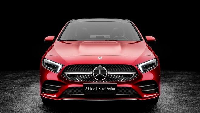 Mercedes-Benz A-Class ban sedan ra mat tai Bac Kinh hinh anh 4