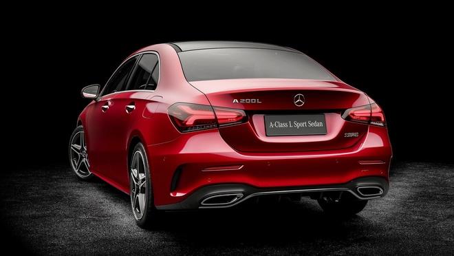 Mercedes-Benz A-Class ban sedan ra mat tai Bac Kinh hinh anh 5