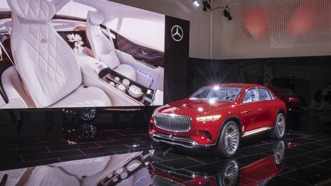 Vision Mercedes-Maybach Ultimate Luxury: Sieu SUV co ghe 'uong tra' hinh anh 1
