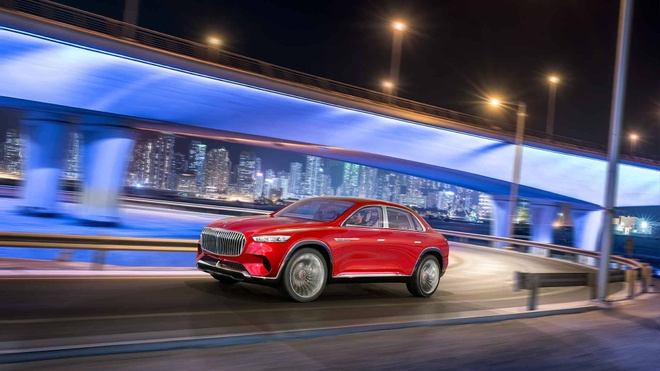 SUV sieu sang Vision Mercedes-Maybach Ultimate Luxury ra mat hinh anh