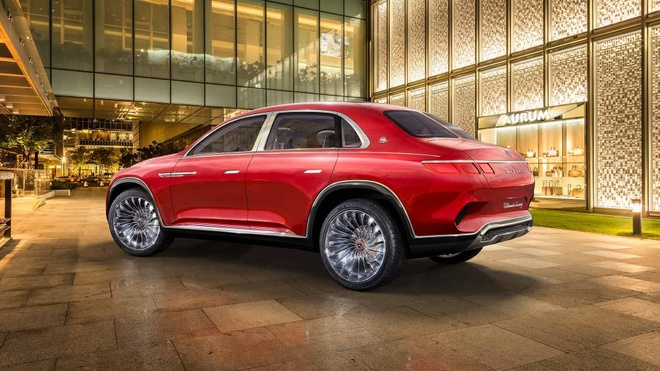 Vision Mercedes-Maybach Ultimate Luxury: Sieu SUV co ghe 'uong tra' hinh anh 8