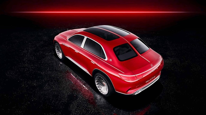 Vision Mercedes-Maybach Ultimate Luxury: Sieu SUV co ghe 'uong tra' hinh anh