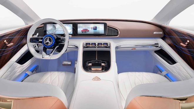 Vision Mercedes-Maybach Ultimate Luxury: Sieu SUV co ghe 'uong tra' hinh anh 5