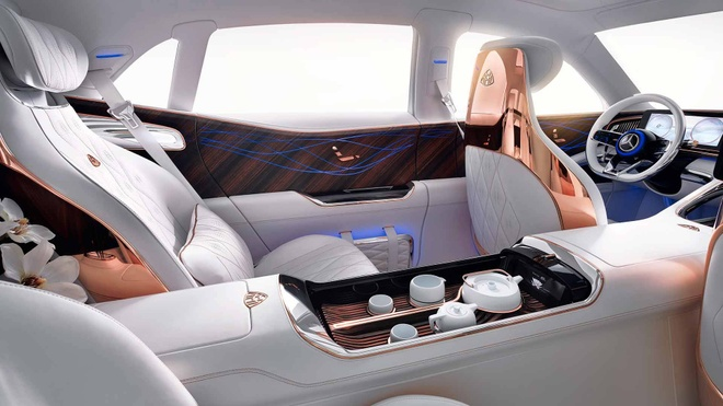Vision Mercedes-Maybach Ultimate Luxury: Sieu SUV co ghe 'uong tra' hinh anh 6