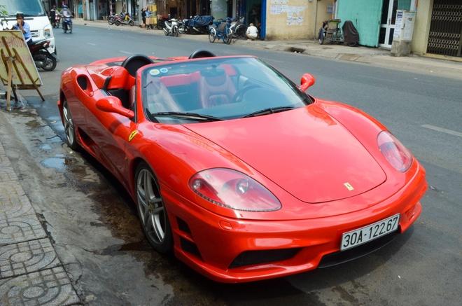 Ferrari 360 Spider - mo uoc mot thoi cua dai gia Viet hinh anh