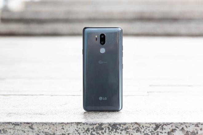 LG G7 ThinQ ra mat, ho tro AI, nang cap am thanh hinh anh