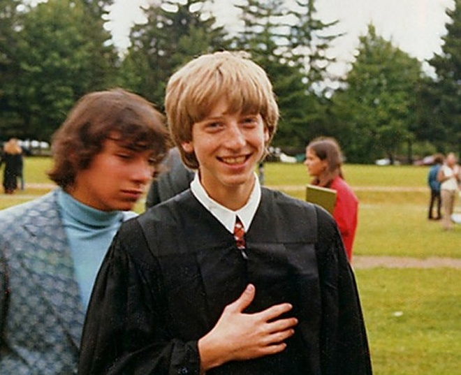 Qua khu Bill Gates: Tung bi bat ve don, 'gio tro' de hoc voi nu sinh hinh anh 3