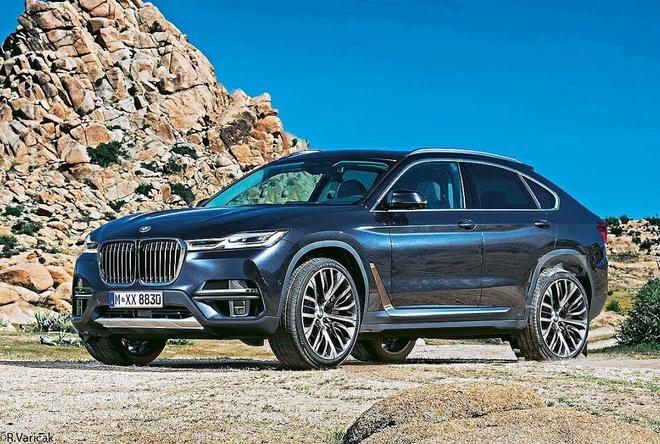 Doi thu cua Audi Q8 - BMW X8 ra mat vao nam 2020 hinh anh