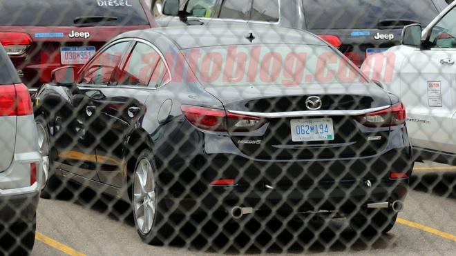 Mazda6 2019 phien ban may dau lo dien tai My hinh anh 3
