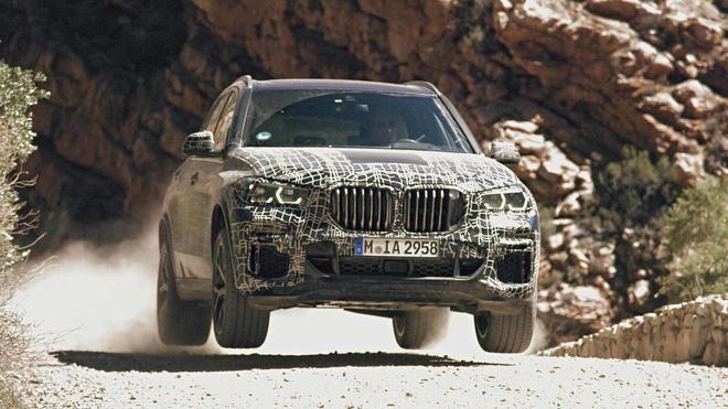 Nhung hinh anh dau tien ve BMW X5 the he moi hinh anh