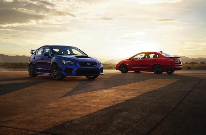 Subaru cong bo gia ban bo doi xe the thao WRX va WRX STI hinh anh 1