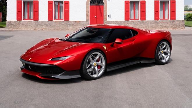 Sieu xe doc nhat cua Ferrari lay cam hung tu huyen thoai F40 hinh anh