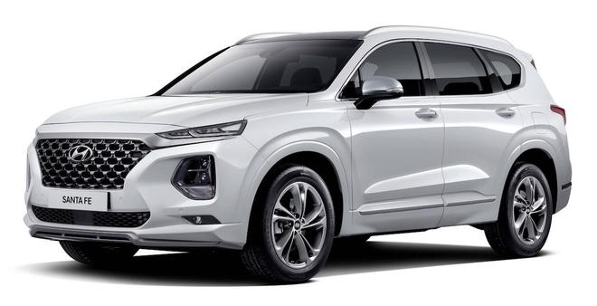 Hyundai Santa Fe Inspiration phien ban dac biet trinh lang hinh anh 1
