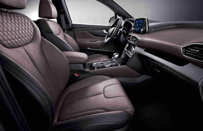 Hyundai Santa Fe Inspiration phien ban dac biet trinh lang hinh anh 2