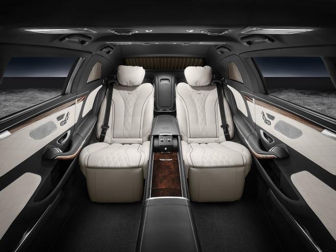 Mercedes-Benz S600 dac trach cho ong Kim Jong Un tai Singapore hinh anh 3