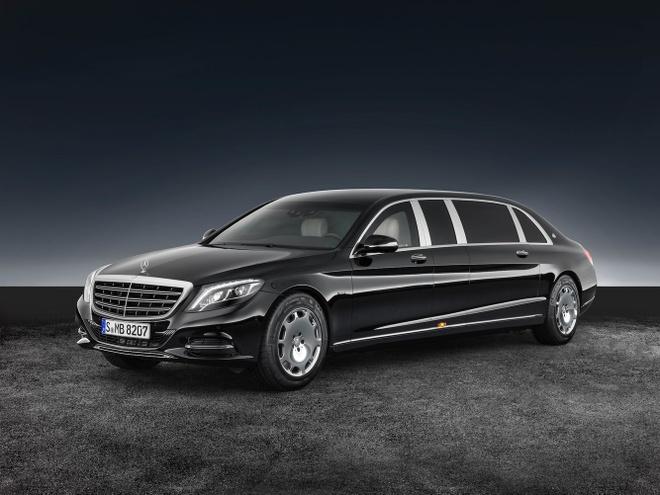 Mercedes-Benz S600 dac trach cho ong Kim Jong Un tai Singapore hinh anh 2